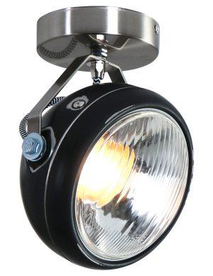 1729ZW-plafonnier noir