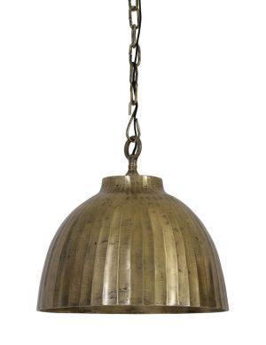 2038GO-grande lampe suspendue en or