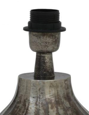 2073ZW-Pied-de-lampe-en-faïence-gris-1