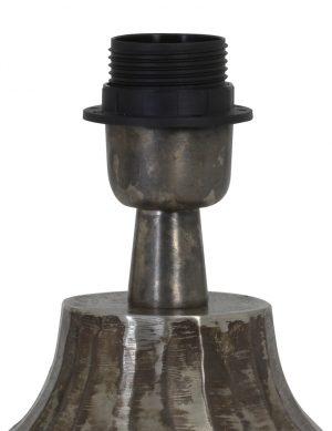 2075ZW-Pied-de-lampe-en-faïence-gris-1
