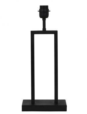 2081ZW-Pied de lampe rectangulaire noir
