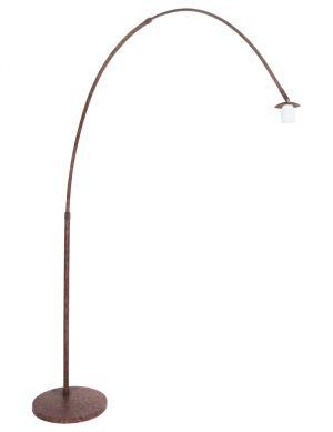 7268B-Lampe à arc marron