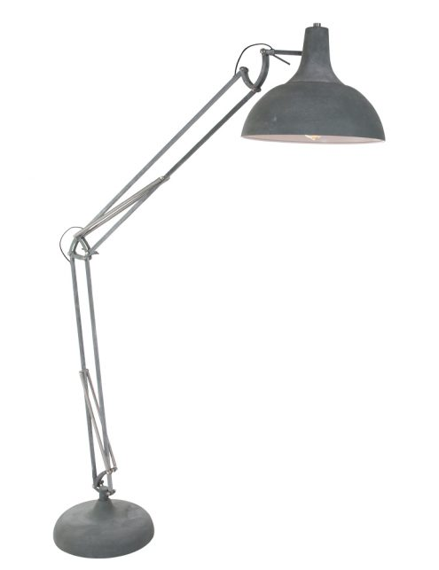 7633GR-lampadaire aspect béton