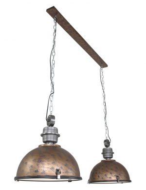 7979B-double lampe suspendue industrielle