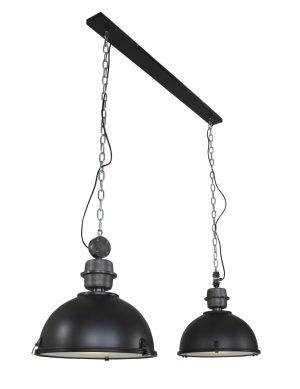 7979ZW-double lampe suspendue industrielle