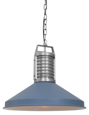 8755BL-Suspension industrielle bleue