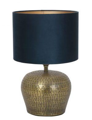 9971BR-lampe vase rétro