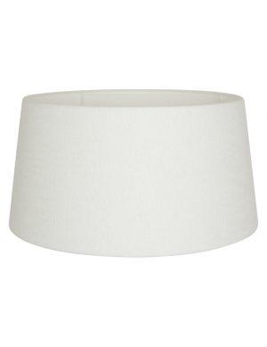 Abat-jour en lin blanc-K1120QS