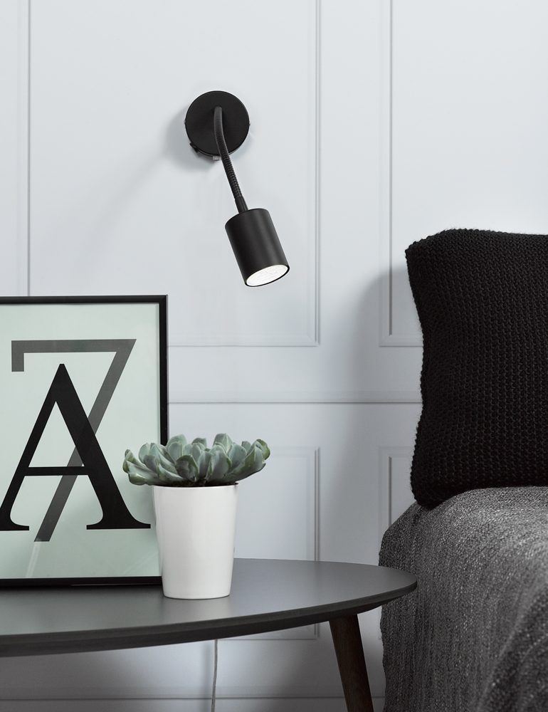 applique murale avec bras articul nordlux explore. Black Bedroom Furniture Sets. Home Design Ideas