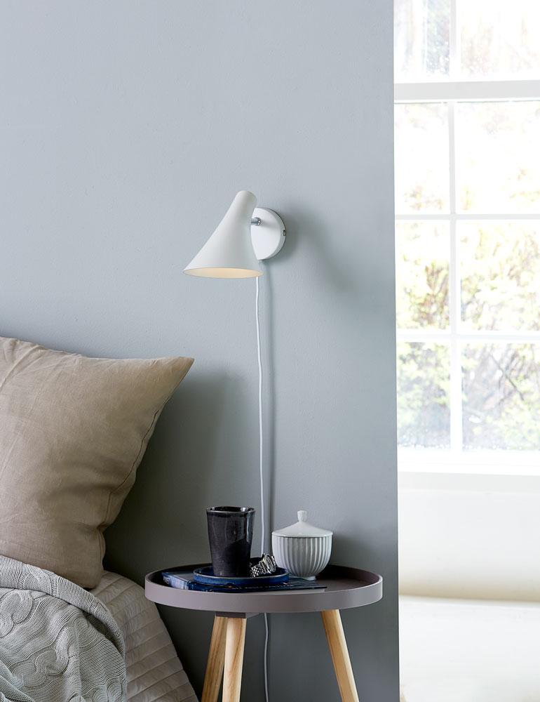 applique murale blanche design nordlux vanila. Black Bedroom Furniture Sets. Home Design Ideas
