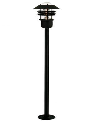 lampadaire exterieur noir-2396ZW