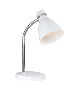 lampe a poser blanche-2167W