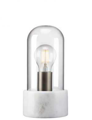 lampe a poser en verre transparent-2378W