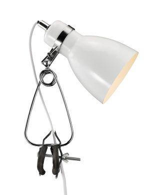 lampe design blanche-2169W
