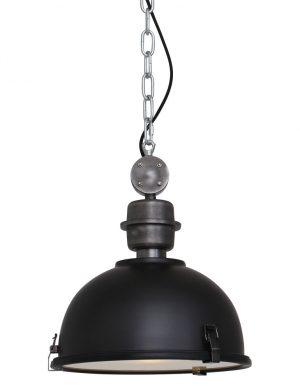 lampe suspendue industrielle noire-7978ZW