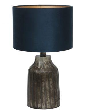 lampe vase rustique grise-9281ZW