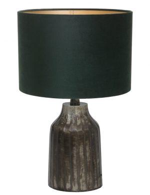 petit pied de lampe gris-9287ZW
