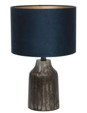 petit pied de lampe gris-9288ZW