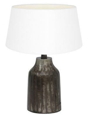 petit pied de lampe gris-9289ZW