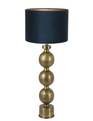 pied de lampe avec ampoules-9173GO