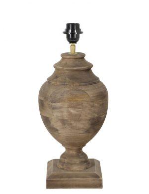 pied de lampe en bois-1674B