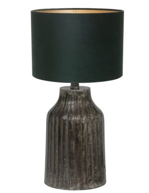 pied de lampe gris fonc'-9290ZW