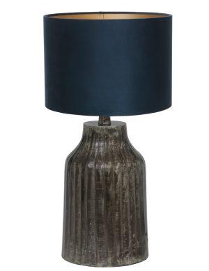 pied de lampe gris fonc'-9291ZW