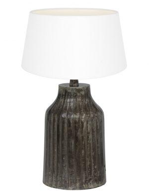 pied de lampe gris fonc'-9292ZW