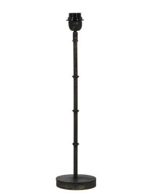 pied de lampe noir-1672ZW