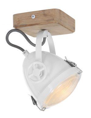 plafonnier industriel blanc-1703W