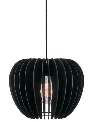 suspension bois noir-2386ZW