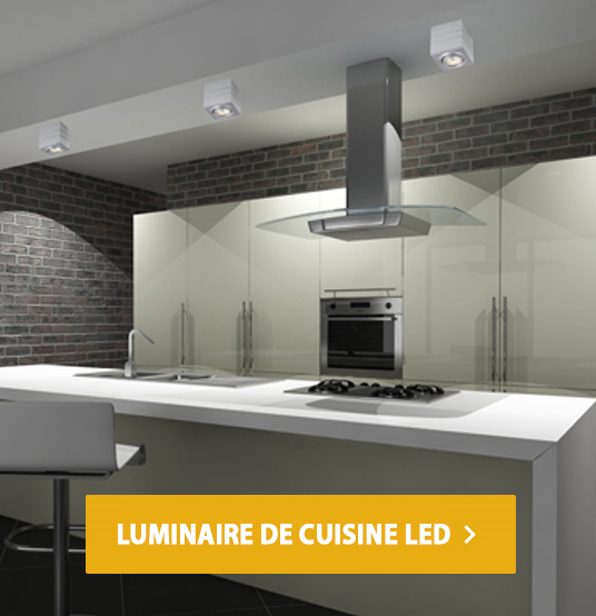 luminaire de cuisine LED