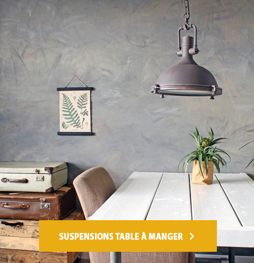 suspensions table a manger