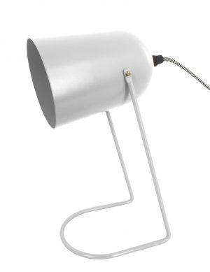 Lampe de bureau minimaliste Leitmotiv Enchant blanc-10143W