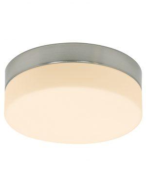 Plafonnier LED Steinhauer en acier diamètre 30 cm-1364ST