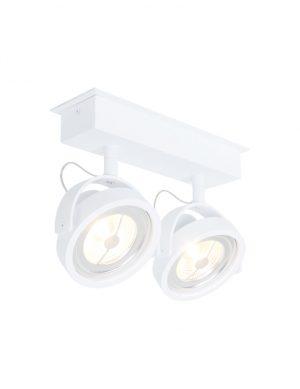Spot LED à deux lumières Steinhauer Lenox blanc-1451W