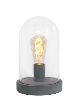 Lampe de table Stolp Mexlite Fonzo grise-1483GR