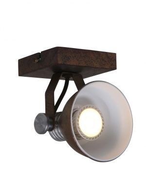 Lampe de plafond résistant à LED Steinhauer Brooklyn couleur marron-1533B