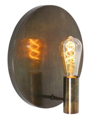 Applique ronde Light & Living Disc or-1541GO
