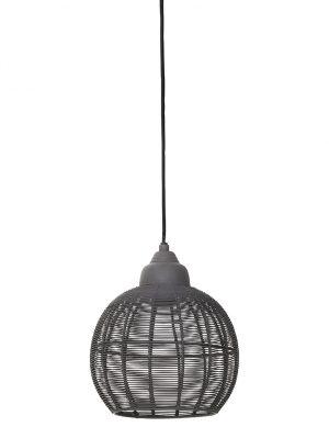 Suspension à fil Light & Living Milla grise-1778GR