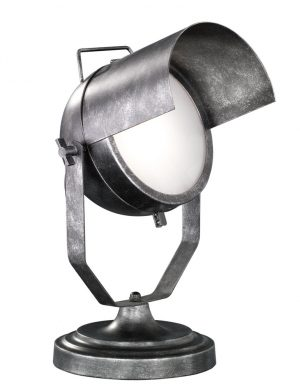 Lampe de table Trio Leuchten Floodlight n°5 en acier estampé-1801ST