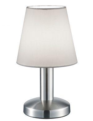 Lampe à poser moderne Trio Leuchten blanc mat-1825ST