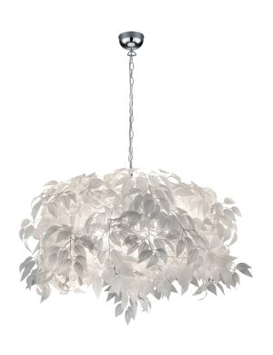 Suspension avec feuilles blanches Reality Leavy-1827CH