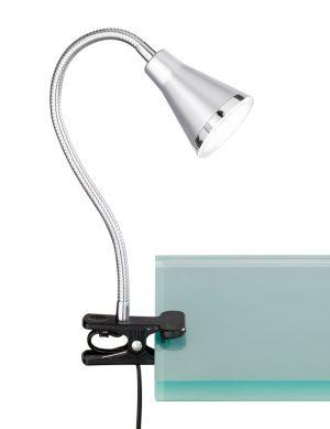 Lampe à pince pliable Reality Arras anthracite-1842A