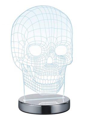 Lampe de table crâne Reality Skull-1848CH