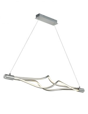 Suspension LED Trio Leuchten Loop en acier-1860ST