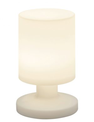 Lampe blanche d'extérieur rechargeable Reality Lora-1867W