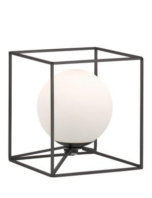 Lampe sphérique encadrée Reality Gabbia noire-1889ZW