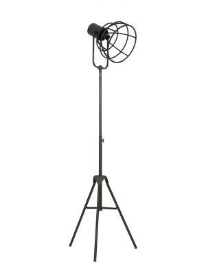 Lampadaire industriel trépieds Light & Living Givan marron-1911BR
