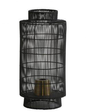 Lampe de table noire Light & Living-1925ZW